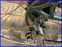 Vintage 1974 Carlsbad CA Masi Gran Criterium 52 cm. Rare Twin Plate Fork Crown