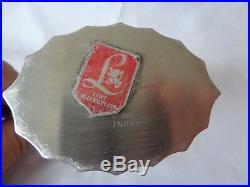 Vintage 4pc Set Lunt Colonial Classic Silverplate Coffee Pot Teapot Creamer Suga