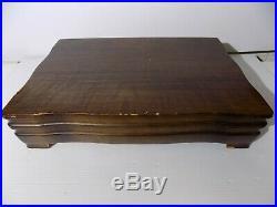 Vintage 59 Piece Set FIRST LOVE Silverware Flatware w Chest Box 1847 Rogers Bros