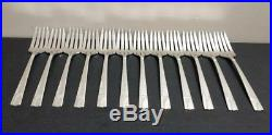 Vintage 90 pc Set Oneida Nobility Plate Caprice Silverplate Flatware Set No Mono