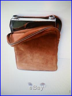Vintage Abercrombie & Fitch Silver Plate Double Flask, Make an Offer