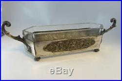 Vintage Antique Wmf Jardiniere Silver Plate Bowl (fraget Warszawa) B. Buch