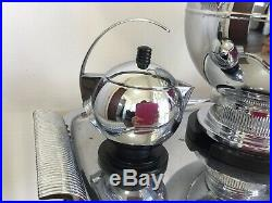 Vintage Art Deco Coffee set Manning Bowman Harmony 1937 With Tray