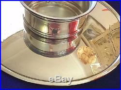 Vintage Asprey Pedestal Dish / Plate London 1935