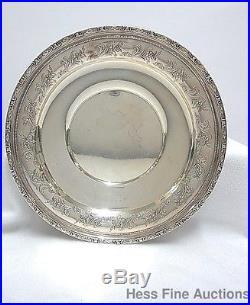 Vintage Big Gorham 13in Sterling Silver Round Sandwich Plate Platter 896 897 898