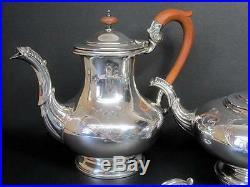 Vintage Birks Regency Silver Plated 4pc Coffee Tea Service Set