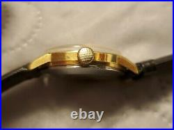 Vintage Bucherer 21 Jewels Automatic Gold Plated Men's Watch