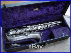 Vintage Buescher True Tone Silver Plate Bb Tenor Sax