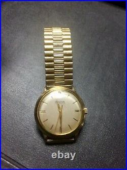 Vintage Bulova Self Winding Wrist Watch Working 10K R. G. Plate