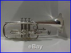 Vintage Bundy Flugelhorn silver plate and original hard case Bach 182 clone