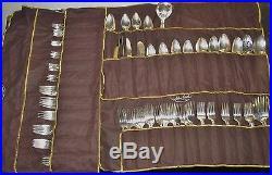 Vintage COMMUNITY Coronation Pattern Silverplate Flatware 146 pc Set Lot J103