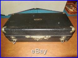 Vintage Cg Conn, Elkhart, USA Silver Plate Finish Trumpet & Case