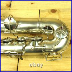 Vintage Conn New Wonder Series I Tenor Sax #131252 1924 Silver Plated