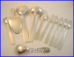 Vintage Danish Stjerne Silver Plate Cutlery Set 12 person Jens Harald Quistgaard
