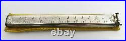 Vintage Dunhill SYLPH Silver Plated 15cm 6 Ruler Lift Arm Lighter in Box CLEAN