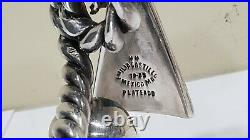Vintage EMILIA CASTILLO SILVER PLATE CANDLE SNUFFER, TOUCAN BIRD