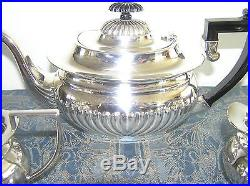 Vintage English Silverplated 3 Piece Tea Set