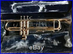 Vintage Excellent Benge CG Claude Gordon LA Trumpet Silver Plated With Bach Case