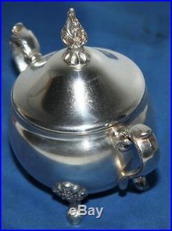 Vintage Fine 4 Piece Silver Plated Tea Set FREE Postage PL1483