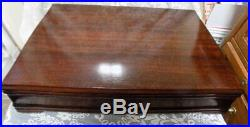Vintage Flatware Set1847 Rogers Brosdaffodil, 195060 Pieceswooden Box