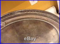 Vintage Gorham Biltmore Miami Silver Soldered Tray 1926 Rare Unique Collectable