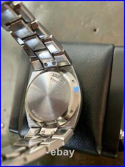 Vintage HAMILTON QED LED PSR late 70s Chrome (plated) Watch In Great Condition