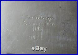 Vintage HERITAGE 1847 ROGERS BROS Silver Plate Tea Service Set 9401 to 9404, 290