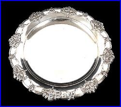 Vintage International. 925 Sterling Silver PLATE 396 Grams Not Weighted #8051