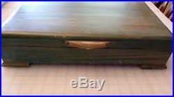 Vintage International Prelude Silverware Silverplate 89 piece sterling