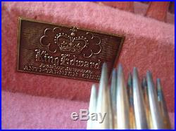 Vintage King Edward & Lady Betty Silverplate Flatware & More 110 + pieces