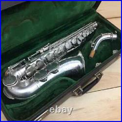 Vintage King Silver Plated Zephyr Alto Saxophone -The Nicest you will find