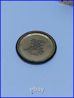 Vintage Lucien Piccard Seashark Hi-Beat 36000 Gold Plated Men's Watch