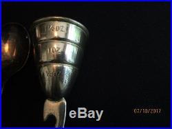 Vintage Napier Silver Plated Barware (5 Pieces)