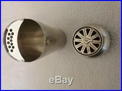Vintage Napier Silverplated Dial A Drink Cocktail Shaker Rare In Excellent Shape