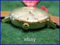 Vintage Omega Geneve, Cal. 601 St131.018 Manual Wind Gold Plated, New Old Stock