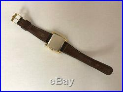 Vintage Omega Geneve Swiss Made Manual Winding Gold Plated Mens Watch
