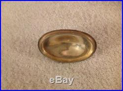 Vintage Pennsylvania Railroad PRR Lidded Sugar Bowl GM Co. E. P. Silver plate