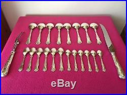 Vintage Quality A1 Silver Plate Kings Pattern Canteen -Slack & Barlow- 82 Pieces