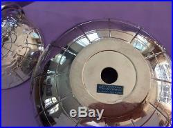 Vintage ROCKET GLOBE International Silver Ice Bucket RARE! Excellent Condition