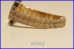 Vintage Rare Swiss Solid Silver And Gold Plated Ladies Watch Omega De Ville