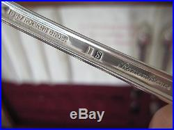 Vintage Rogers Bros Is 1847 Remembrance Silverware Service For 6 Total 32 Pieces