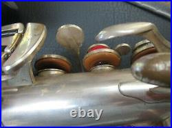 Vintage SML SUPER 1948 Silver Plated Alto Saxophone- Beautiful- Ready to play