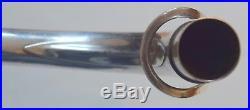 Vintage Selmer Mark VI Tenor Sax Neck silver plate