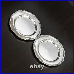 Vintage Set of 12 Milan Sterling Silver. 925 Bread & Butter Plates 4
