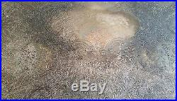Vintage Sheffield Silver Co. Silverplated Copper Serving Tray