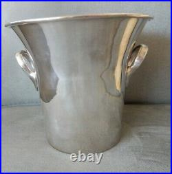 Vintage Silver Plate Over Copper Champagne/wine Ice Bucket