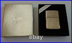 Vintage Silver Plate Stamped CAMEL BIKER JOE ZIPPO Lighter (Z89), circa 1995