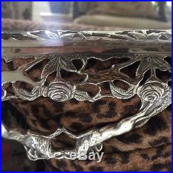 Vintage Silver Plate Tray marked Wallace Silversmiths
