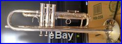 Vintage Silver Plated Burbank Benge #5 Bell 5X Professional Trumpet/Great Player