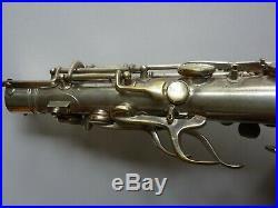 Vintage Silver plated Conn New wonder 2 alto saxophone